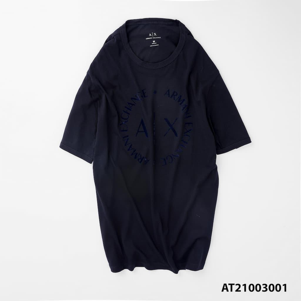 Áo thun cổ tròn graphic armani AT21003001 5