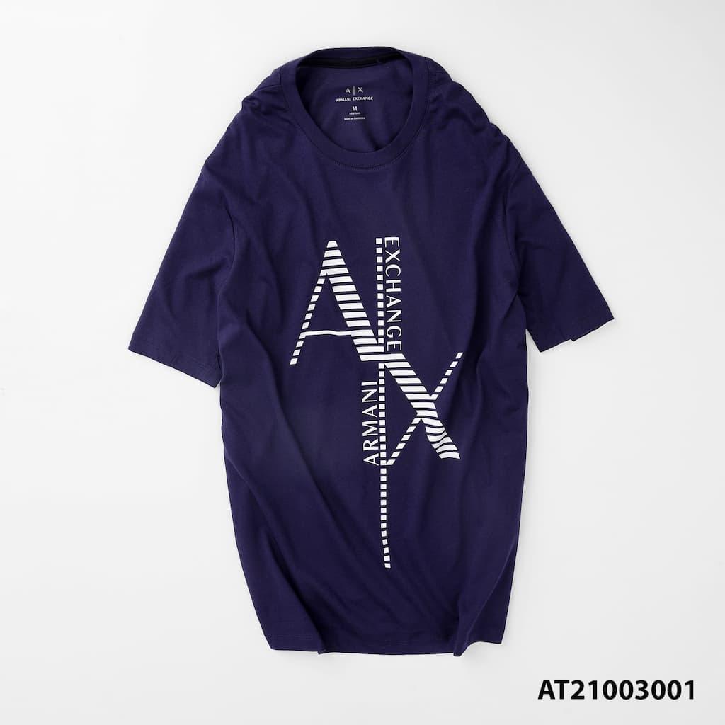 Áo thun cổ tròn graphic armani AT21003001 3