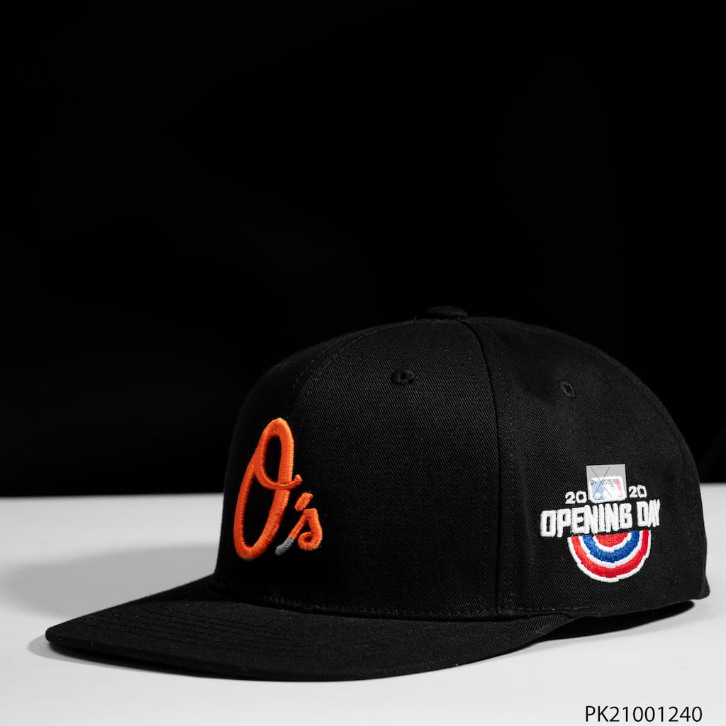Mũ MLB màu cam os