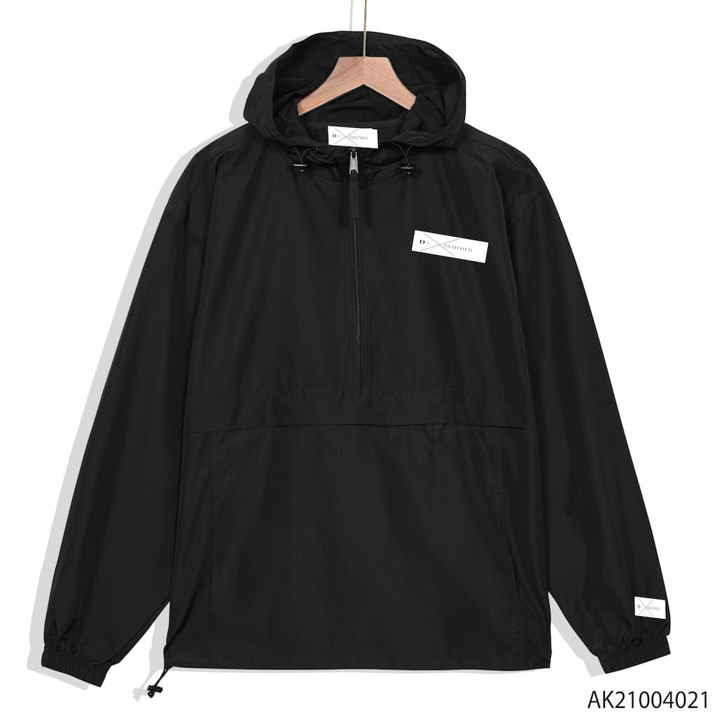 Áo khoác dù Champion màu đen