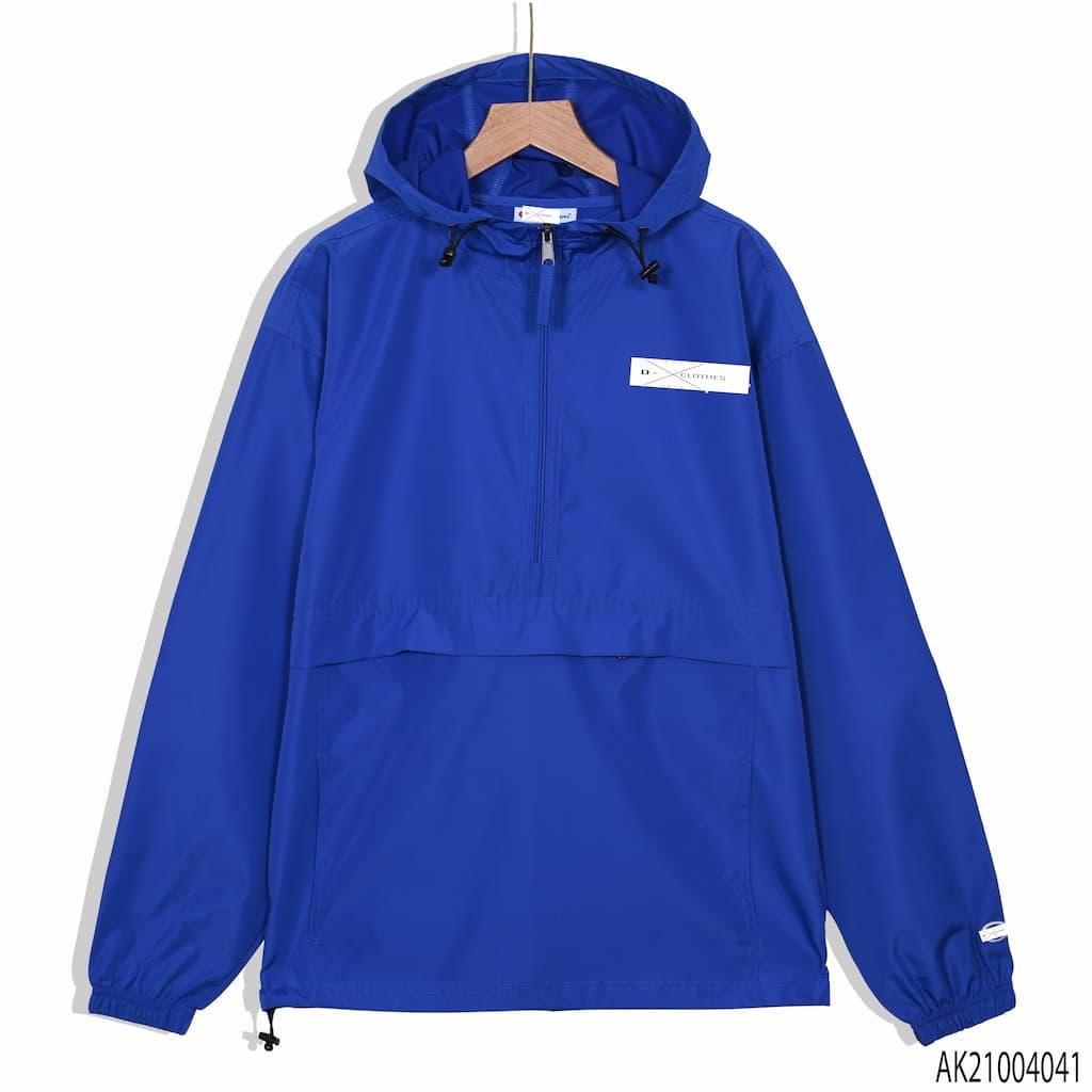Áo khoác dù Champion màu xanh dương