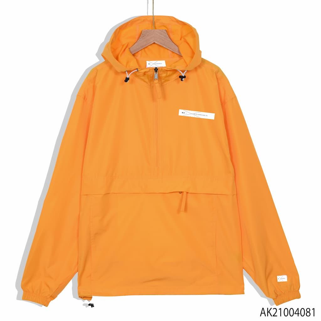 Áo khoác dù Champion màu cam