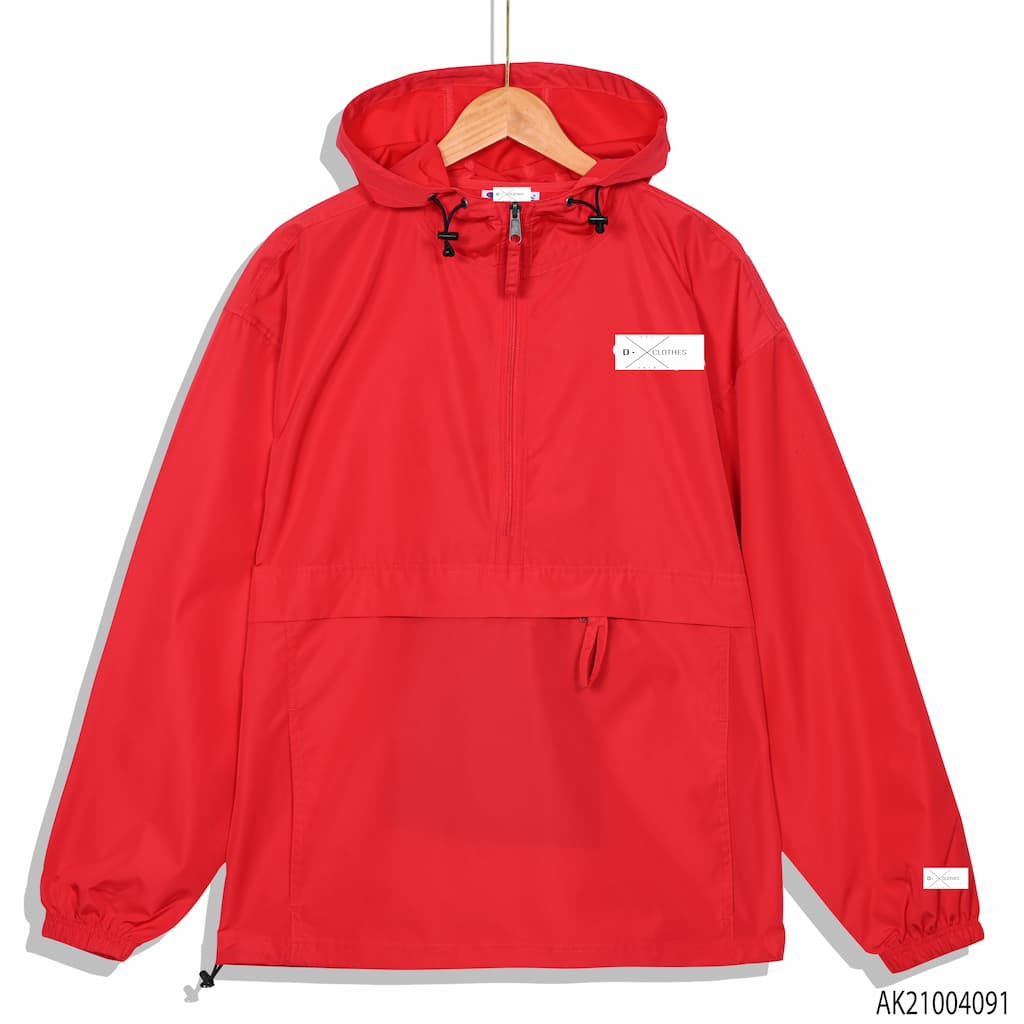 Áo khoác dù Champion màu đỏ