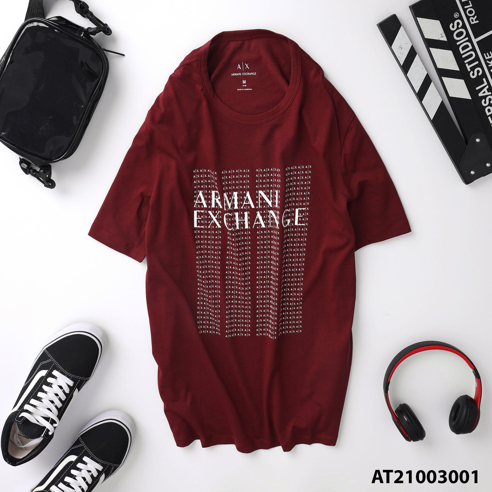 Áo thun cổ tròn Armani AT21003001 3