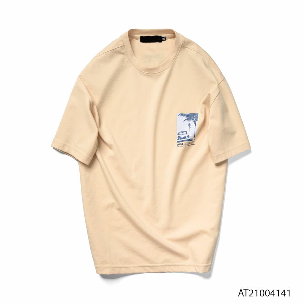 Áo thun JMBE màu màu cam nhạt