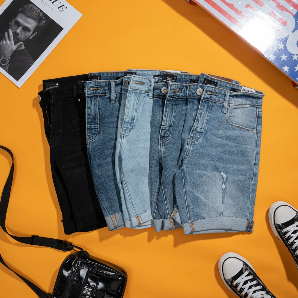 Quần Shorts jeans superdry