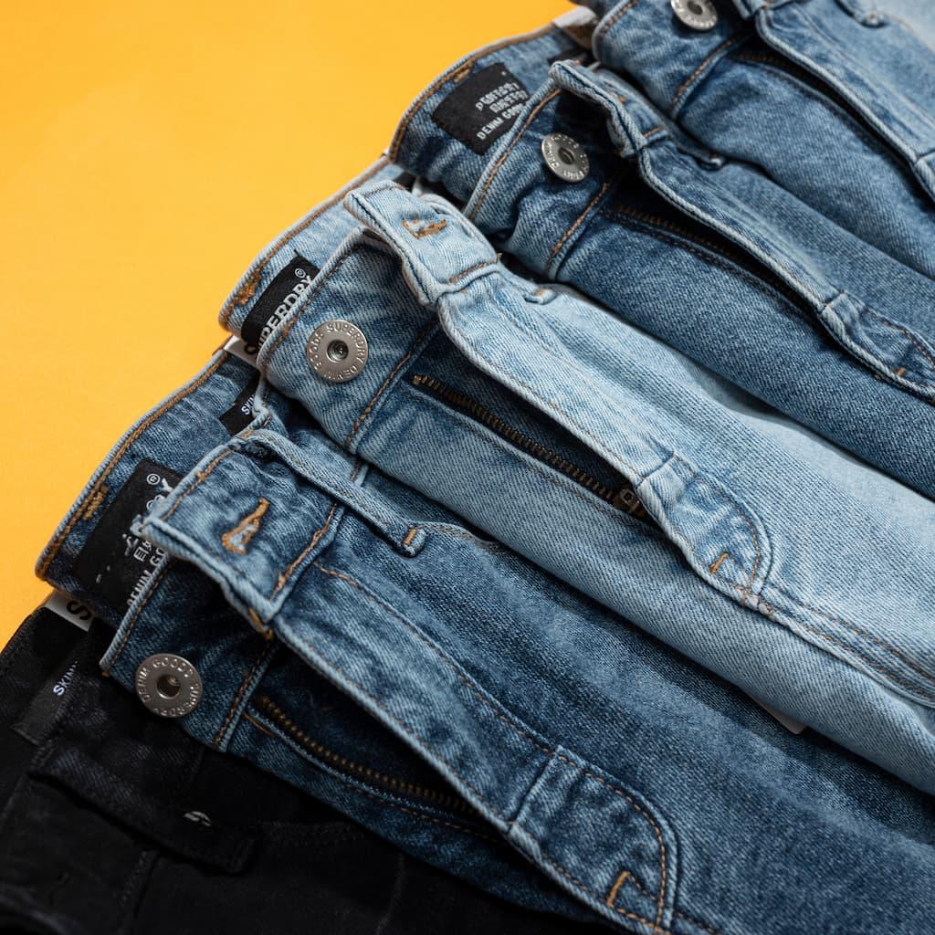 Quần Shorts jeans superdry hình chi tiết 1
