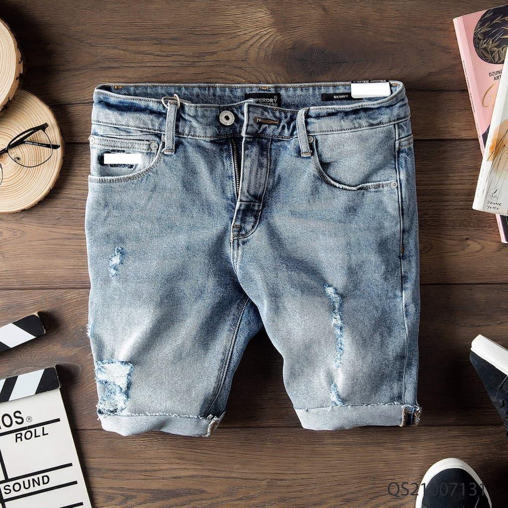 Quần shorts jeans superdry qs210070